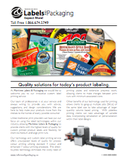 MLP Quality Solutions Information Brochure
